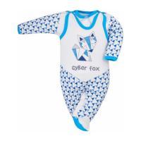 Dojčenská súprava Bobas Fashion Baby Beti , Barva - Modrá , Velikost - 74