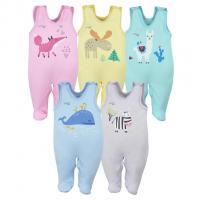 Dupačky Koala Happy Baby Velryba , Barva - Modrá , Velikost - 56