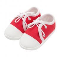Capáčky tenisky New Baby , Velikost - 62 , Barva - Bielo-červená
