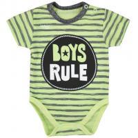 Body Koala Boys Rule , Barva - Zelená , Velikost - 62