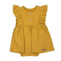 Šatičky - body s krátkým rukávem Nicol Michelle , Velikost - 56 , Barva - Žltá