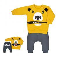 Tepláčky a mikina Koala Surprise , Velikost - 62 , Barva - Žltá