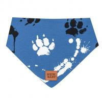 Šátek na krk New Baby Paw , Velikost - M , Barva - Modrá
