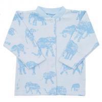 Kabátek Baby Service Sloni , Velikost - 62 , Barva - Modrá