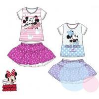 Tričko a sukně Minnie , Barva - Modrá , Velikost - 98
