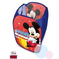 Kôš na hračky Mickey , Barva - Modro-červená