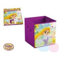 Kôš na hračky Princezna Locika , Barva - Fialová