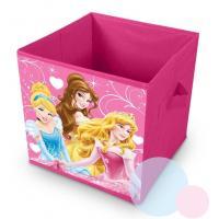 Kôš na hračky Princezny , Barva - Malinová