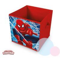 Kôš na hračky Spiderman , Barva - Červená