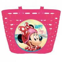 Košík na bicykel Minnie Mouse , Barva - Malinová