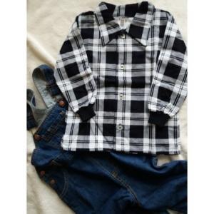 Košeľa Tomino flanelová , Velikost - 86