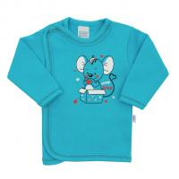 Košilka New Baby Mouse , Velikost - 62 , Barva - Tyrkysová