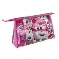 Kozmetická taška vybavená Super Wings ružová , Barva - Ružová