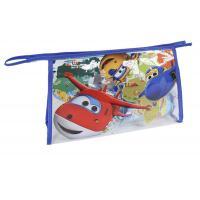 Kozmetická taška vybavená Super Wings , Barva - Modrá