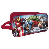 Kosmetická taštička Avengers , Barva - Červená