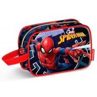 Kosmetická taštička Spiderman , Barva - Tmavo modrá