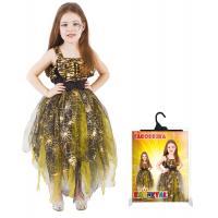 Kostým Čarodejnice , Velikost - L , Barva - Zlatá
