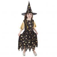 Kostým Čarodejnica , Velikost - M , Barva - Čierna