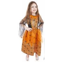 Kostým  Halloween , Velikost - M , Barva - Oranžová