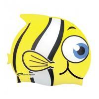 Kúpacie čiapka Ryba - žltá , Barva - Žltá