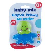 Kousátko Baby Mix chobotnice , Barva - Modrá