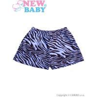 Kraťasy Zebra , Barva - Modrá , Velikost - 68