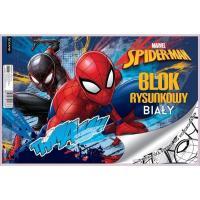 Kreslící blok Spiderman , Barva - Modrá