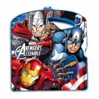 Kreslící sada Avengers , Barva - Modro-červená
