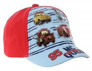 KŠILTOVKA CARS baby , Velikost čepice - 48 , Barva - Červená