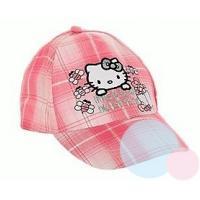 Šiltovka Hello Kitty , Velikost čepice - 52 , Barva - Tmavo ružová