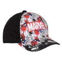 KŠILTOVKA MARVEL Spiderman , Velikost čepice - 52 , Barva - Čierna