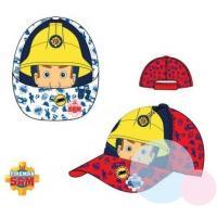 KŠILTOVKA hasič Sam , Velikost čepice - 52 , Barva - Červená