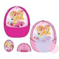 Šiltovka Princezny Disney , Velikost čepice - 52 , Barva - Ružová