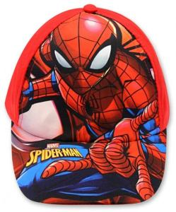Kšiltovka Spiderman , Barva - Červená , Velikost čepice - 52