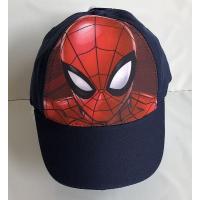 Šiltovka Spiderman , Barva - Tmavo modrá , Velikost čepice - 52