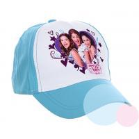Šiltovka Violetta , Velikost čepice - 52 , Barva - Modrá