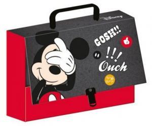 KUFRÍK Mickey A4 s rukoväťou , Barva - Červená