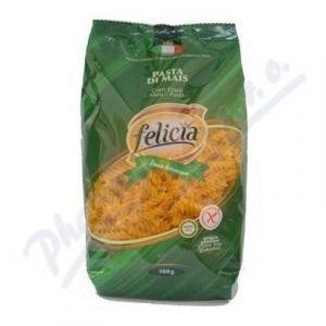Kukuričné Fusilli - bezlepkové cestoviny Felicia 500g , Velikost balení - 500g