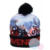 Čepice Avengers , Barva - Čierna , Velikost čepice - 52