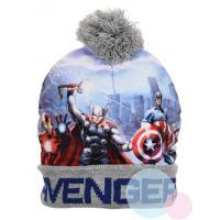 Čepice Avengers , Barva - Šedá , Velikost čepice - 52
