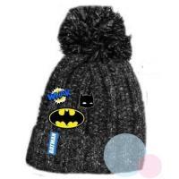 kulich Batman , Velikost čepice - 52 , Barva - Antracitová