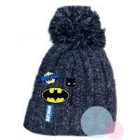 kulich Batman , Velikost čepice - 52 , Barva - Tmavo modrá