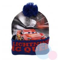 KULICH CARS , Velikost čepice - 52 , Barva - Modrá