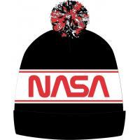 KULICH NASA , Velikost čepice - 54 , Barva - Červeno-černá