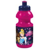 LÁHEV DISNEY Princezné , Velikost lahve - 330 ml , Barva - Malinová