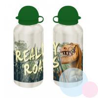Fľaša hodní DINOSAUR ALU , Barva - Tmavo zelená , Velikost lahve - 0,5 L