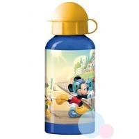 Fľaša Mickey ALU , Barva - Modrá , Velikost lahve - 400 ml