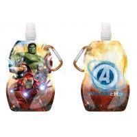 Fľaša na pitie s karabínou Avengers , Barva - Barevná , Velikost lahve - 330 ml