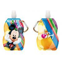 Fľaša na pitie s karabínou Mickey , Barva - Oranžová , Velikost lahve - 330 ml