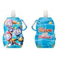 Fľaša na pitie s karabínou Paw Patrol , Barva - Modrá , Velikost lahve - 330 ml